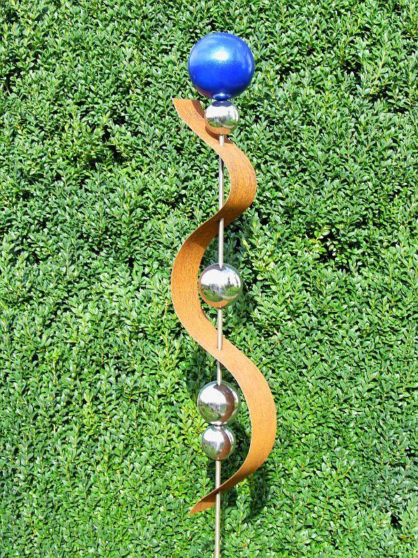 Gartendeko deko gartenstecker stecker rost edelrost for Gartendeko in edelstahl