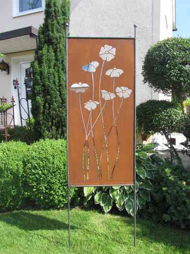 mohnblume, Gartenarbeit ideen