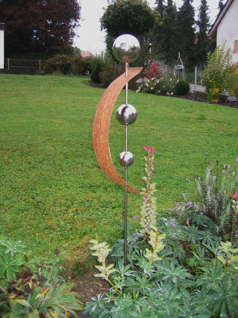 Gartendeko deko gartenstecker stecker rost edelrost for Deko mit rost