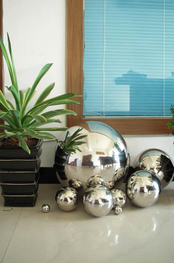 Größen Edelstahlkugel Ball poliert Schwimmkugel Dekoration Rosenkugel versch